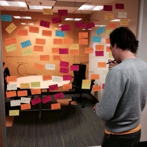 me at post-its