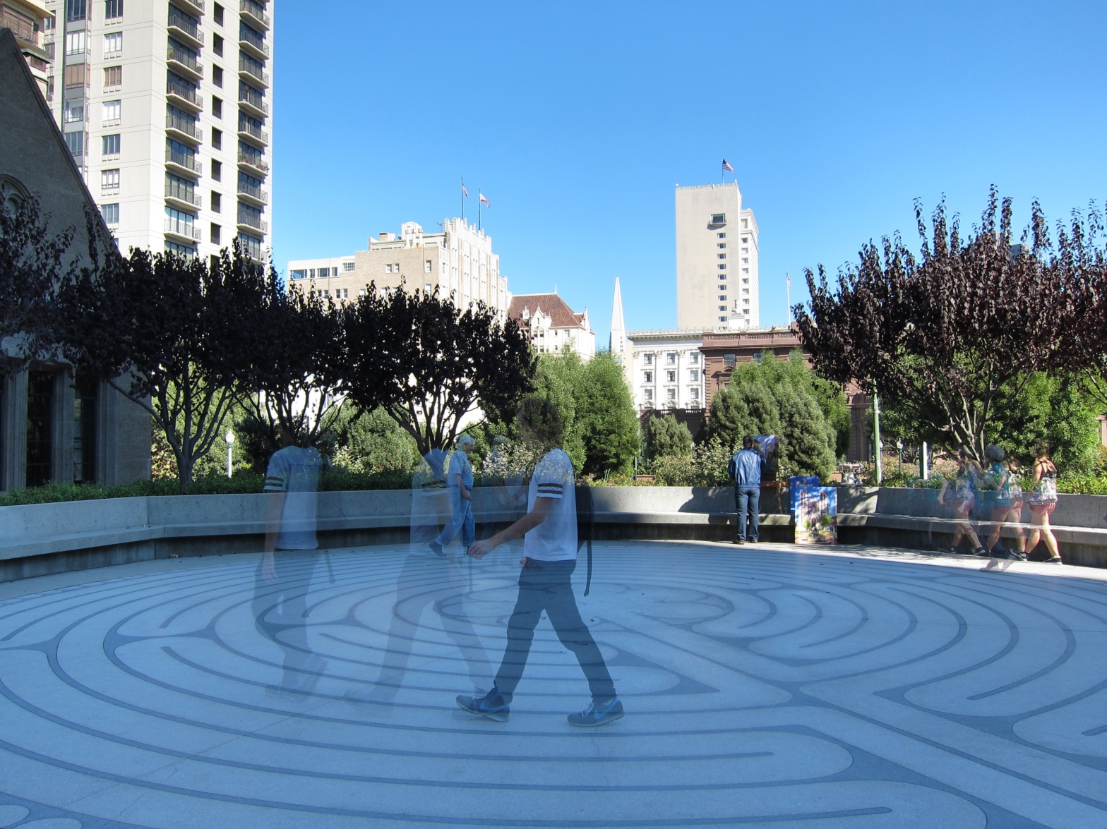 Grace Cathedral Hill Labyrinth – seanbolton me