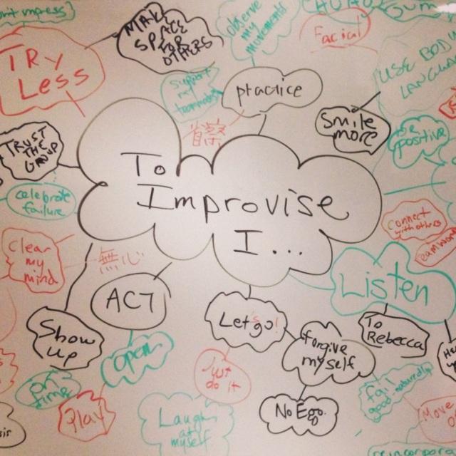 To Improvise I...