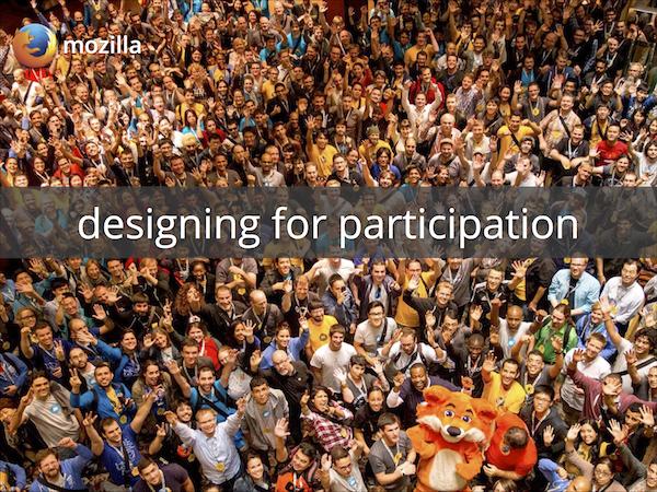 Designing for Participation Workshop