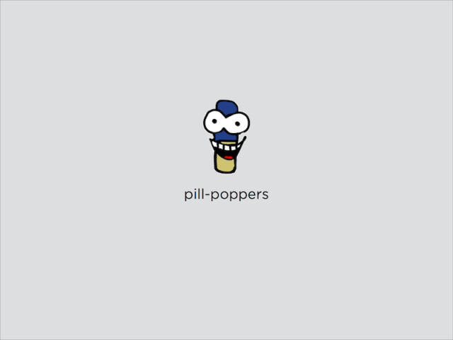 Pill-Poppers Presentation cover