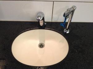 bergen bathroom water bottle refill